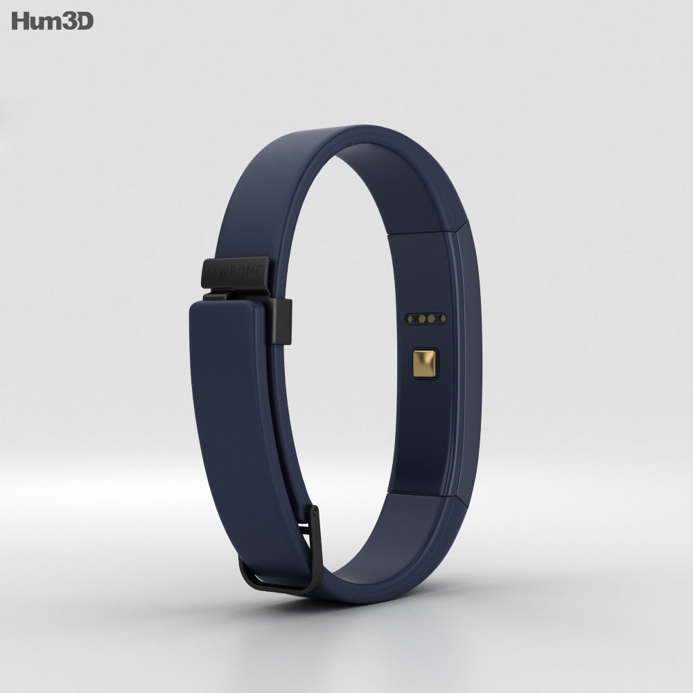 Jawbone UP3 Indigo Twist 3d model