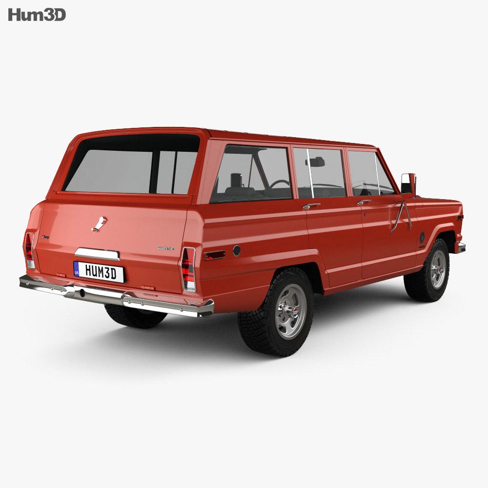 Jeep Cherokee S 4-door 1977 3d model
