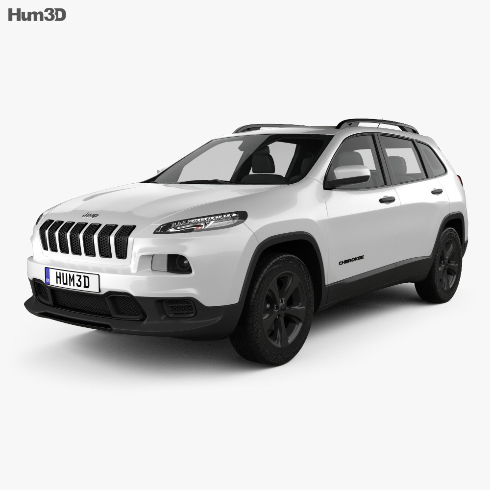 Jeep Cherokee Limited 2017 3d model