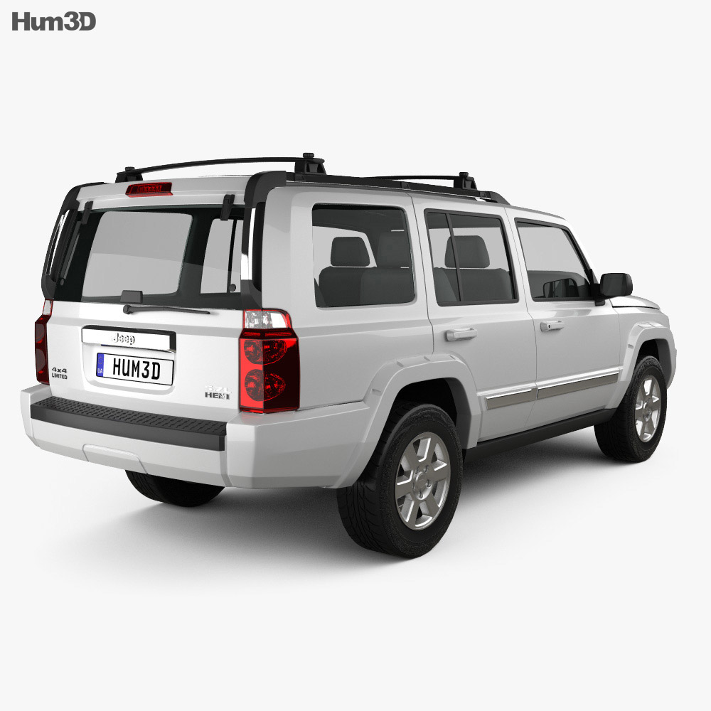 Jeep Commander (XK) Limited 2006 3d model