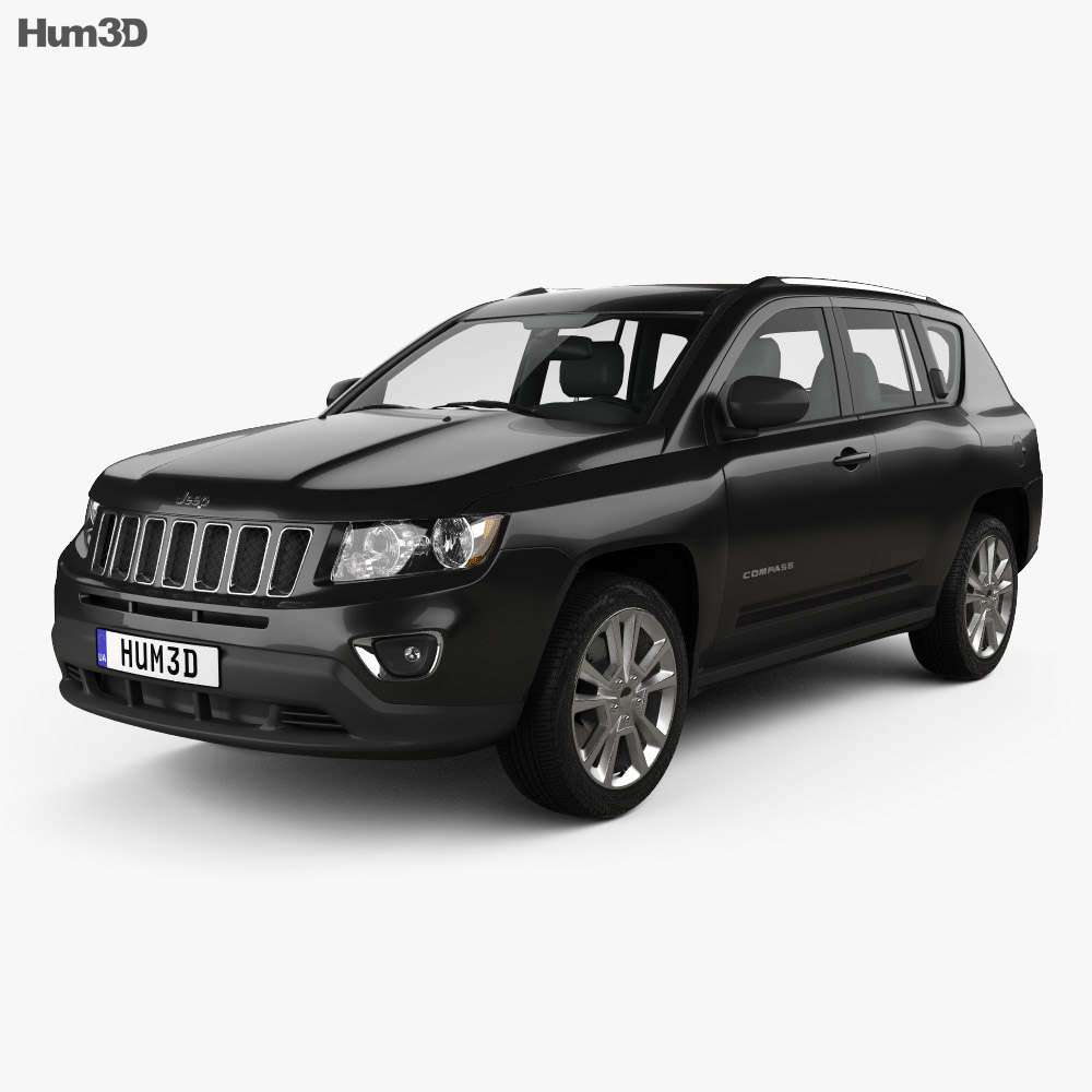 Jeep Compass 2013 3d model