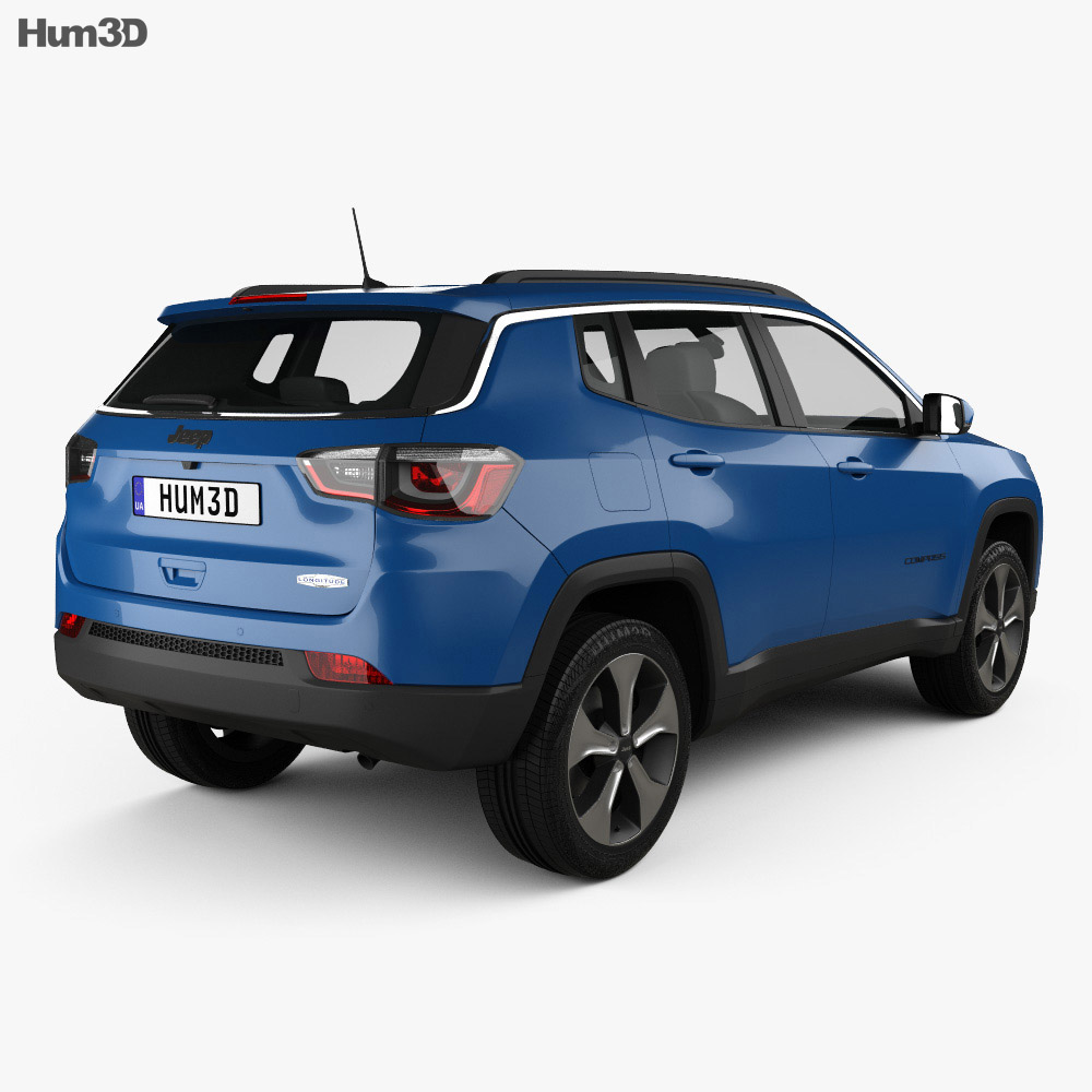 Jeep Compass Longitude (Latam) 2016 3d model