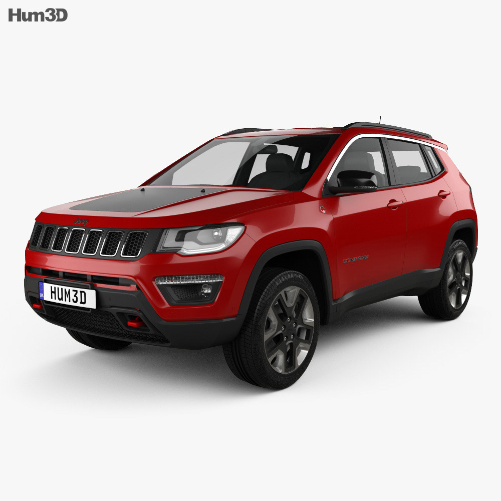 Jeep Compass Trailhawk (Latam) 2016 3d model