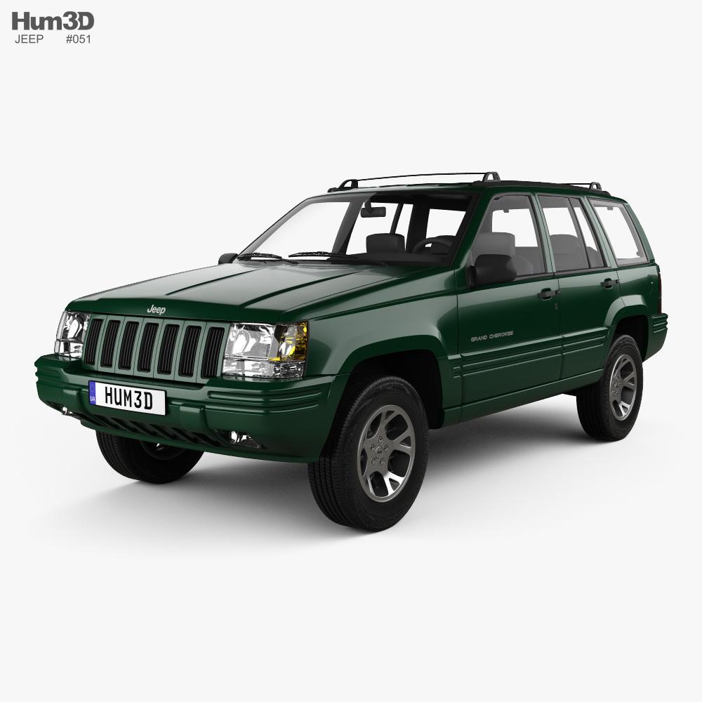 Jeep Grand Cherokee 1996 3d model
