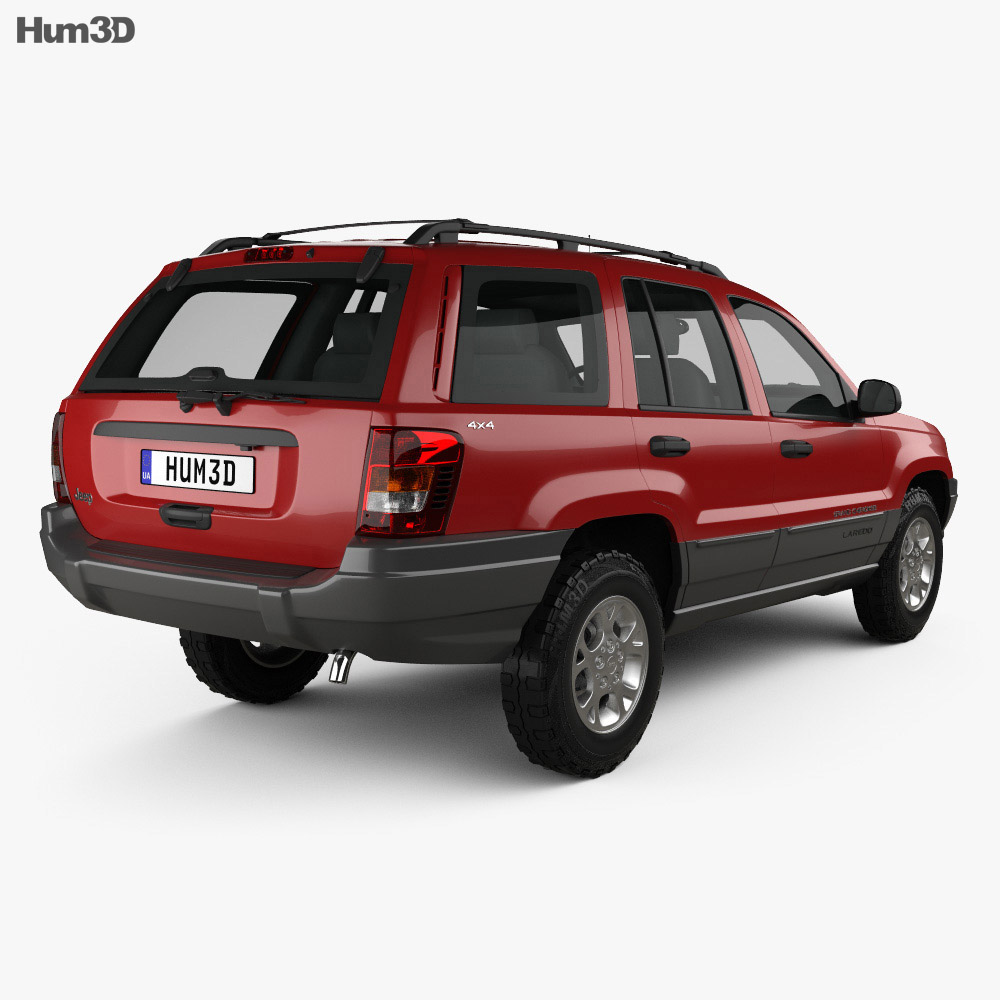 jeep grand cherokee wj 1998 3d model humster3d. Black Bedroom Furniture Sets. Home Design Ideas