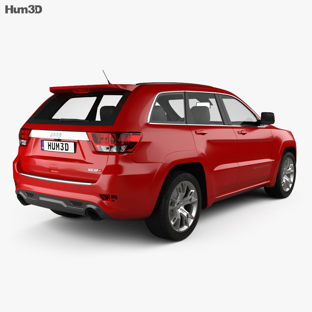 Jeep Grand Cherokee SRT8 2013 3d model