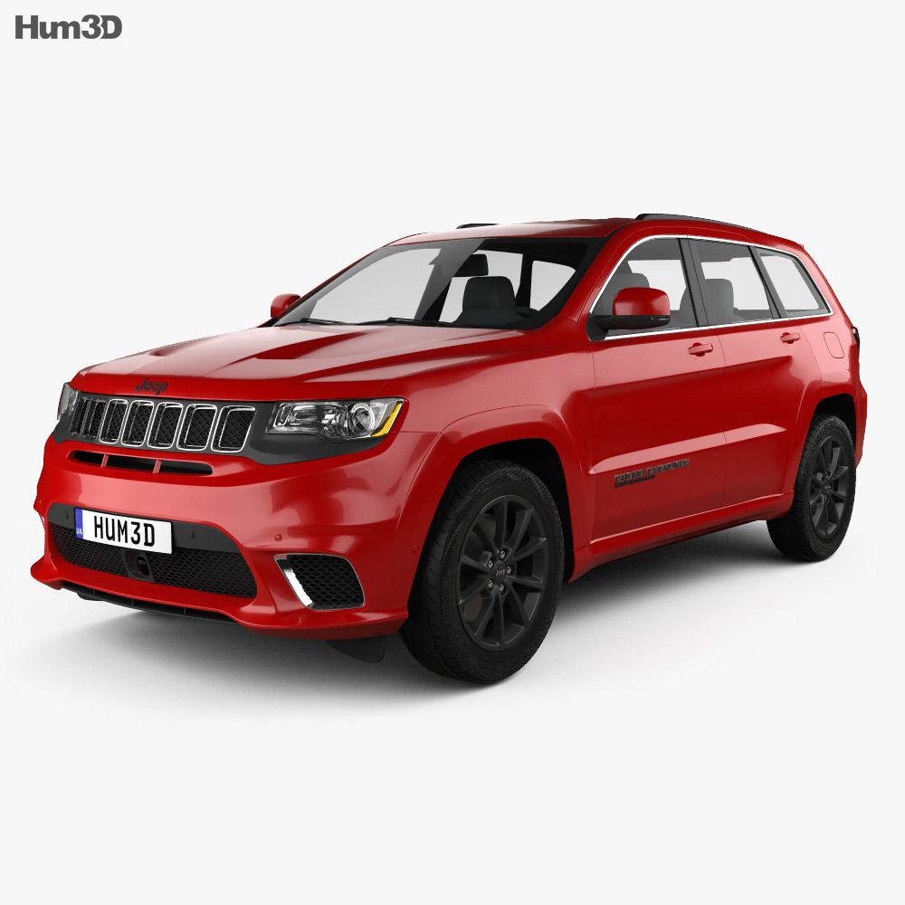 jeep grand cherokee wk2 trackhawk 2017 3d model hum3d. Black Bedroom Furniture Sets. Home Design Ideas