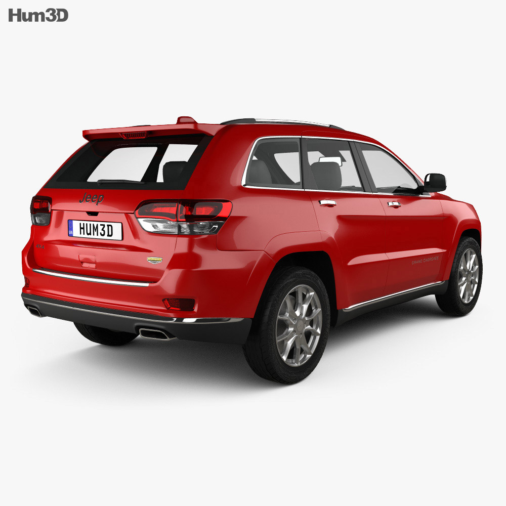 Jeep Grand Cherokee Summit 2014 3d model