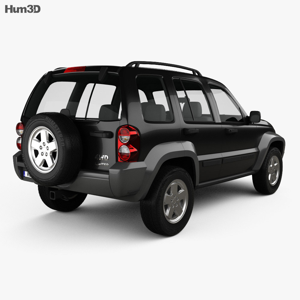 Jeep Liberty KJ Limited 2005 3d model