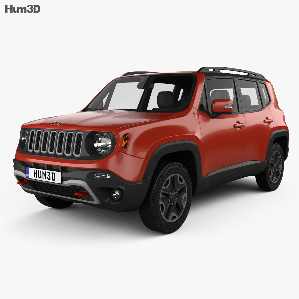 Jeep Renegade Trailhawk 2015 3d model