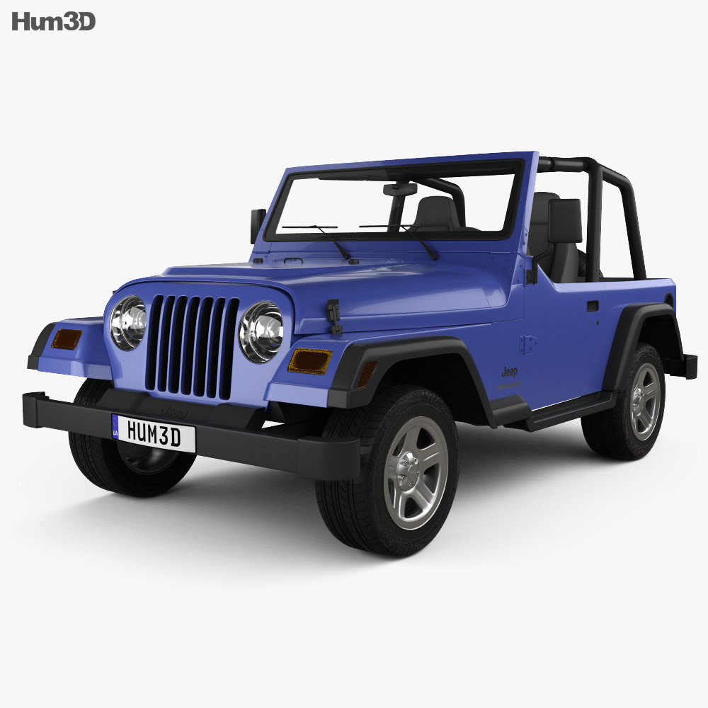 Jeep Wrangler TJ 1997 3d model