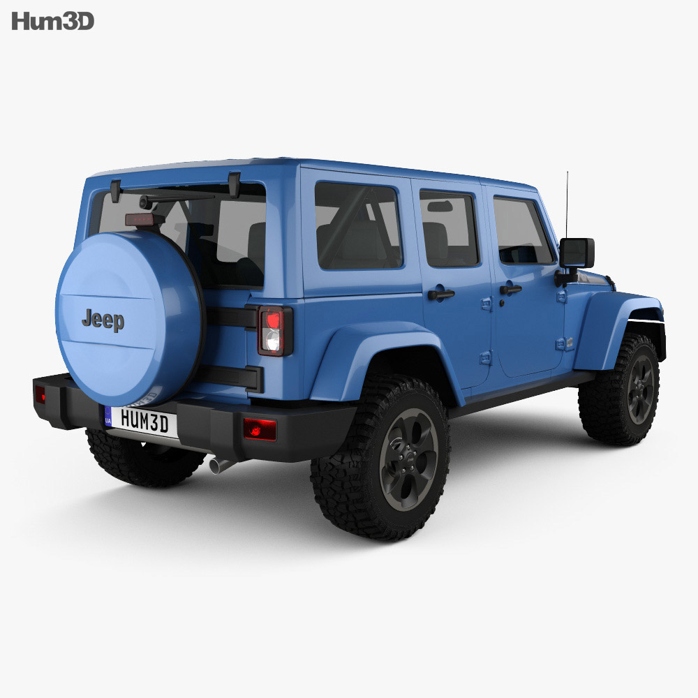 Jeep Wrangler Unlimited Polar Edition 2014 3d model