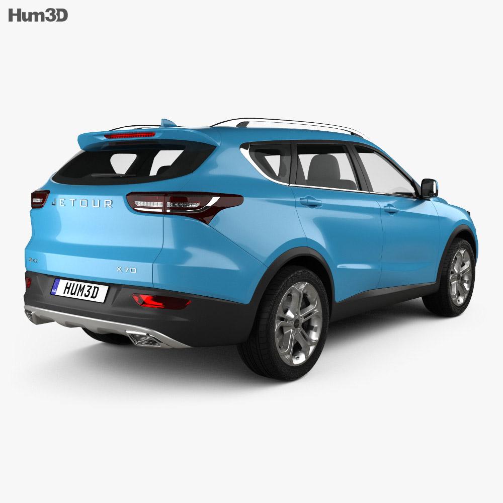 Jetour X70 2018 3d model