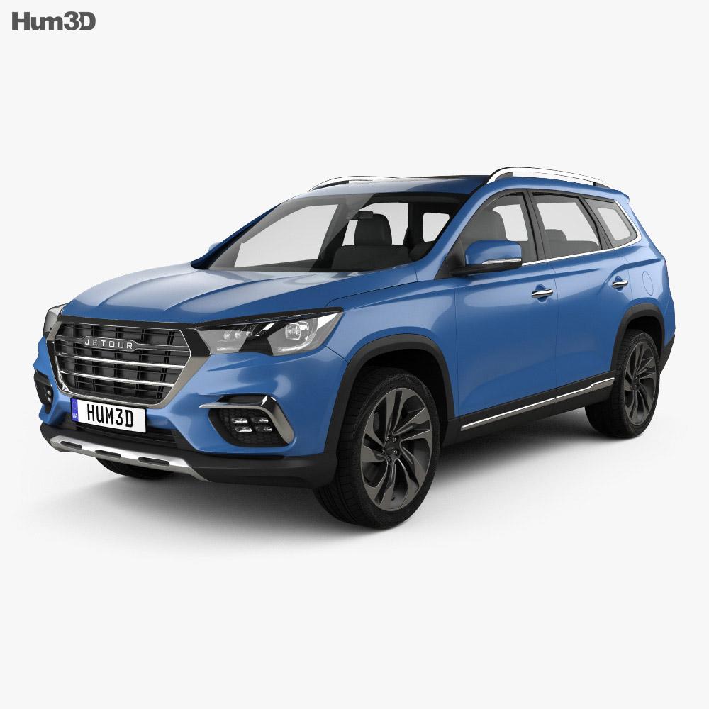 Jetour X90 2018 3d model