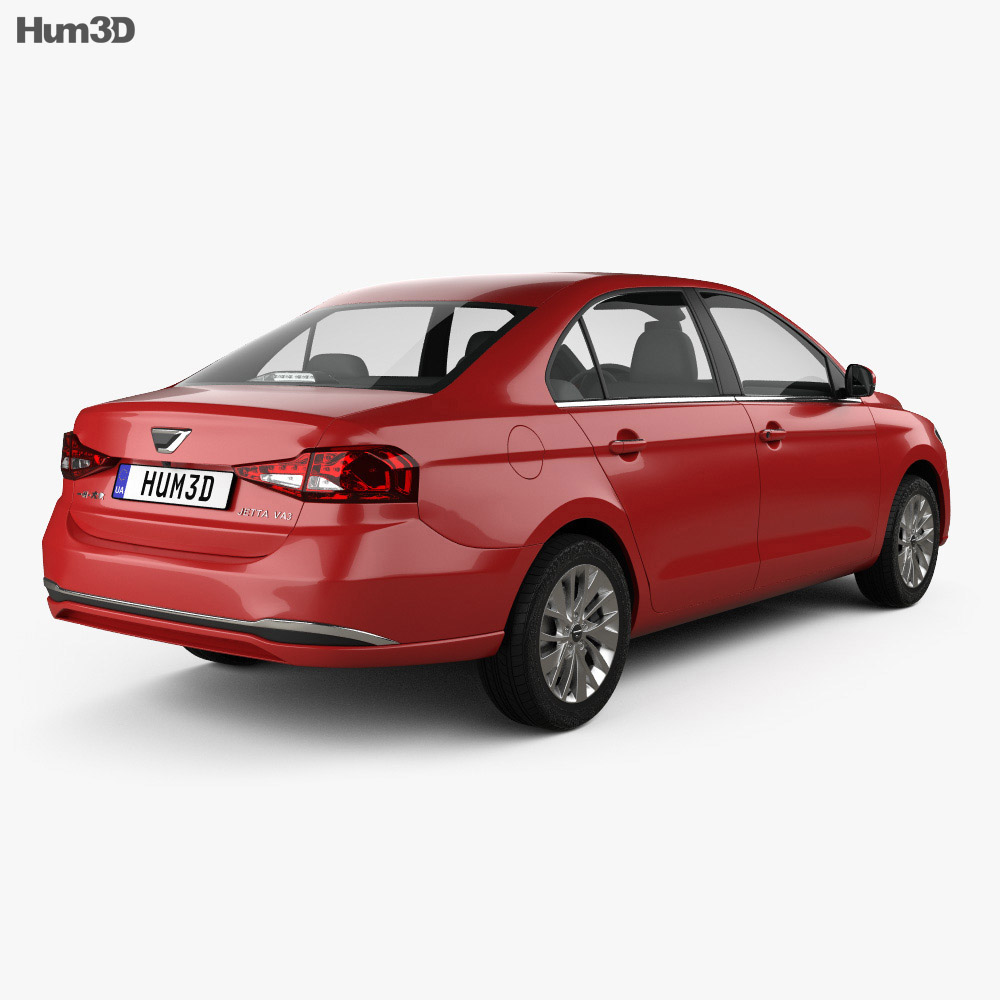 Jetta VA3 2019 3d model