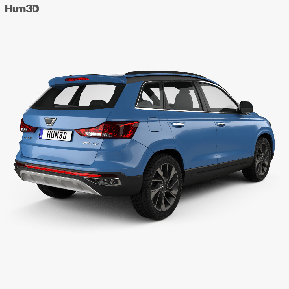 Jetta VS7 2019 3d model