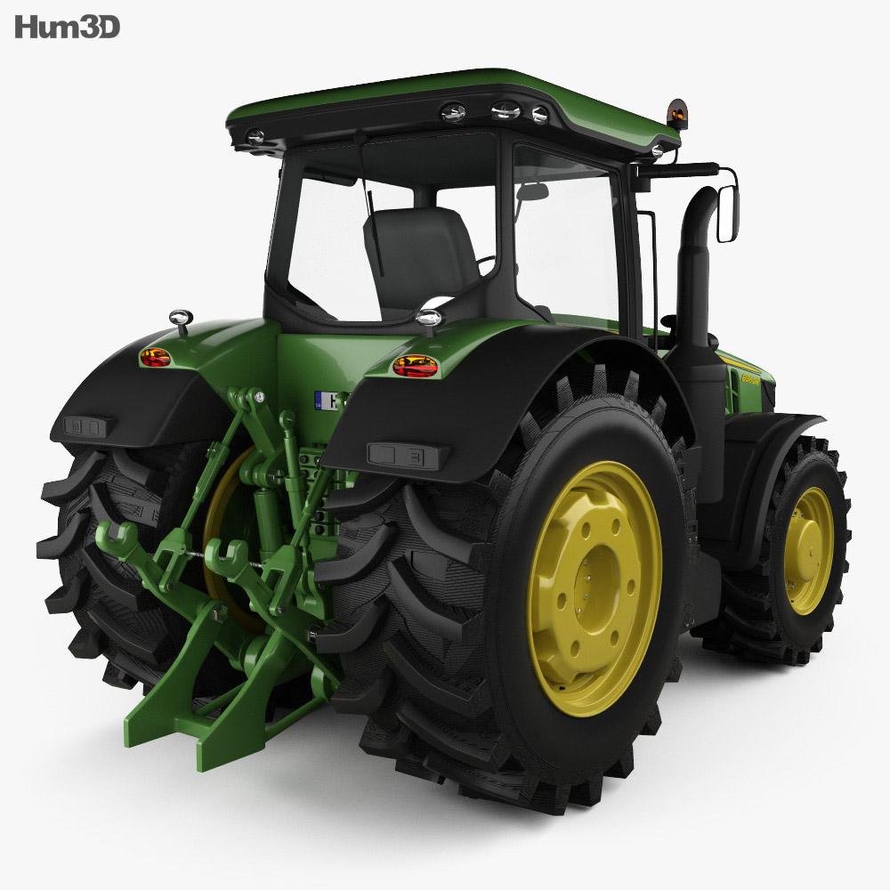 John Deere 8360R Tractor 2012 3d model