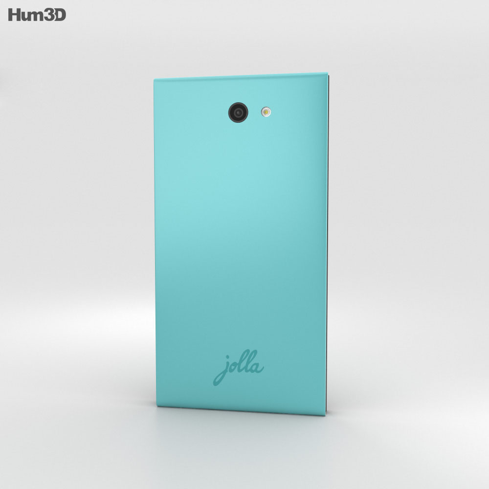 Jolla Aloe 3d model