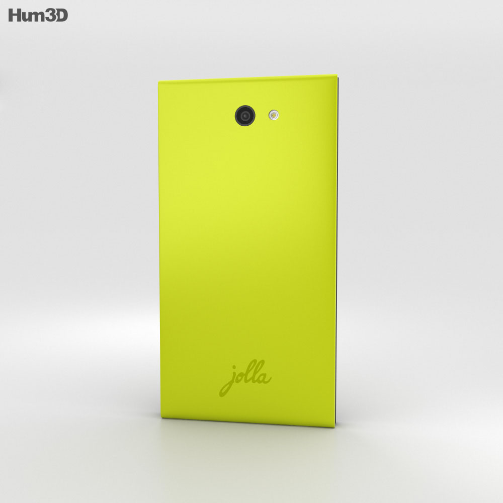 Jolla Lime 3d model