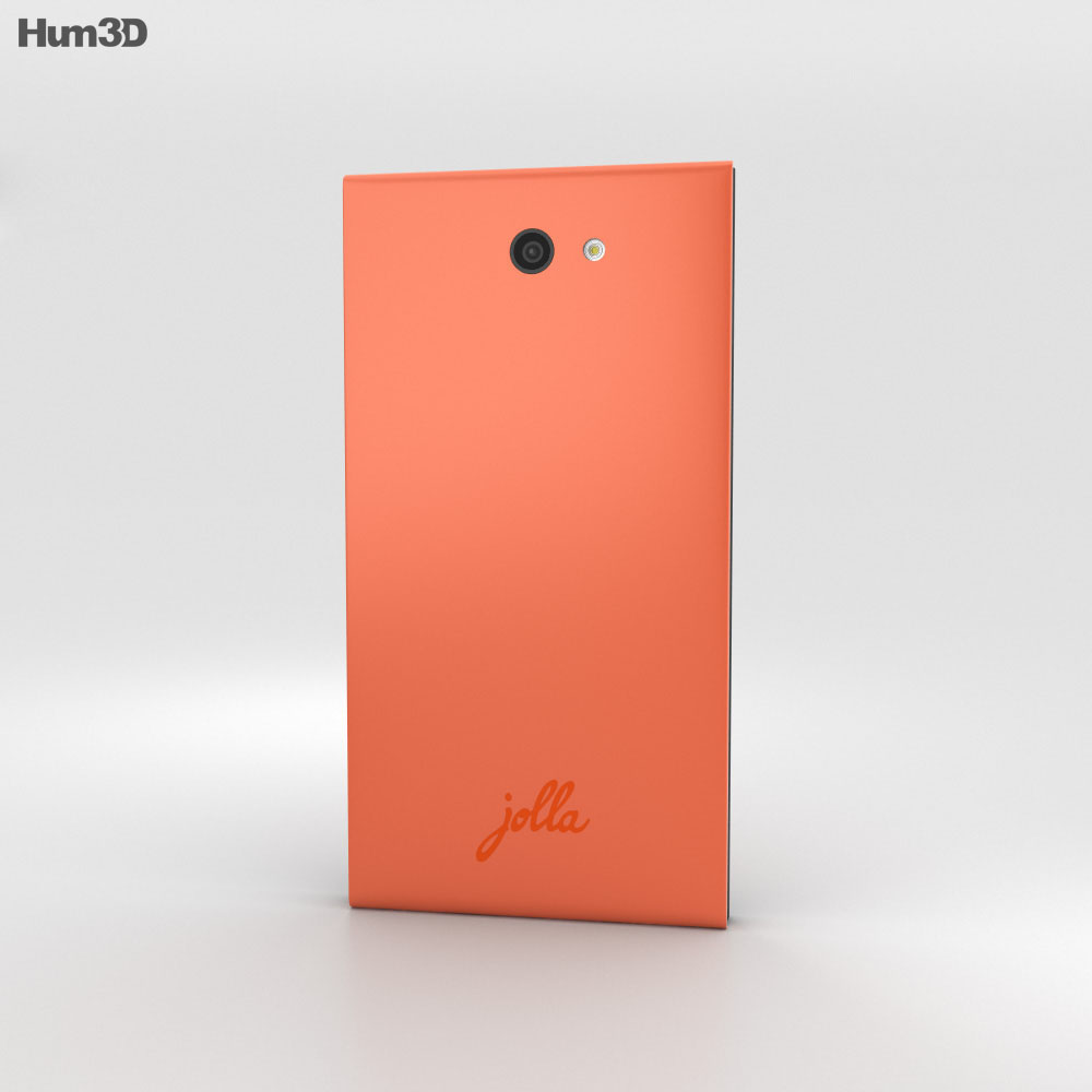 Jolla Poppy Red 3d model