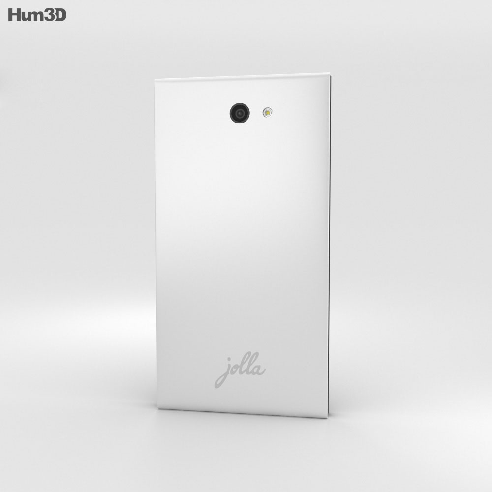 Jolla White 3d model