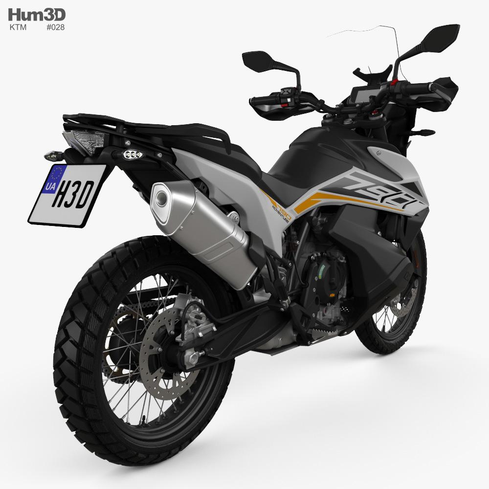 KTM 790 Adventure 2019 3d model