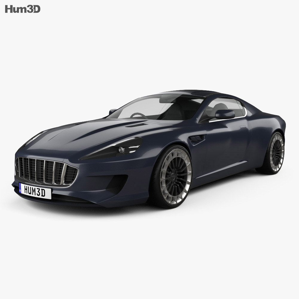 Kahn Design WB12 Vengeance 2015 3d model