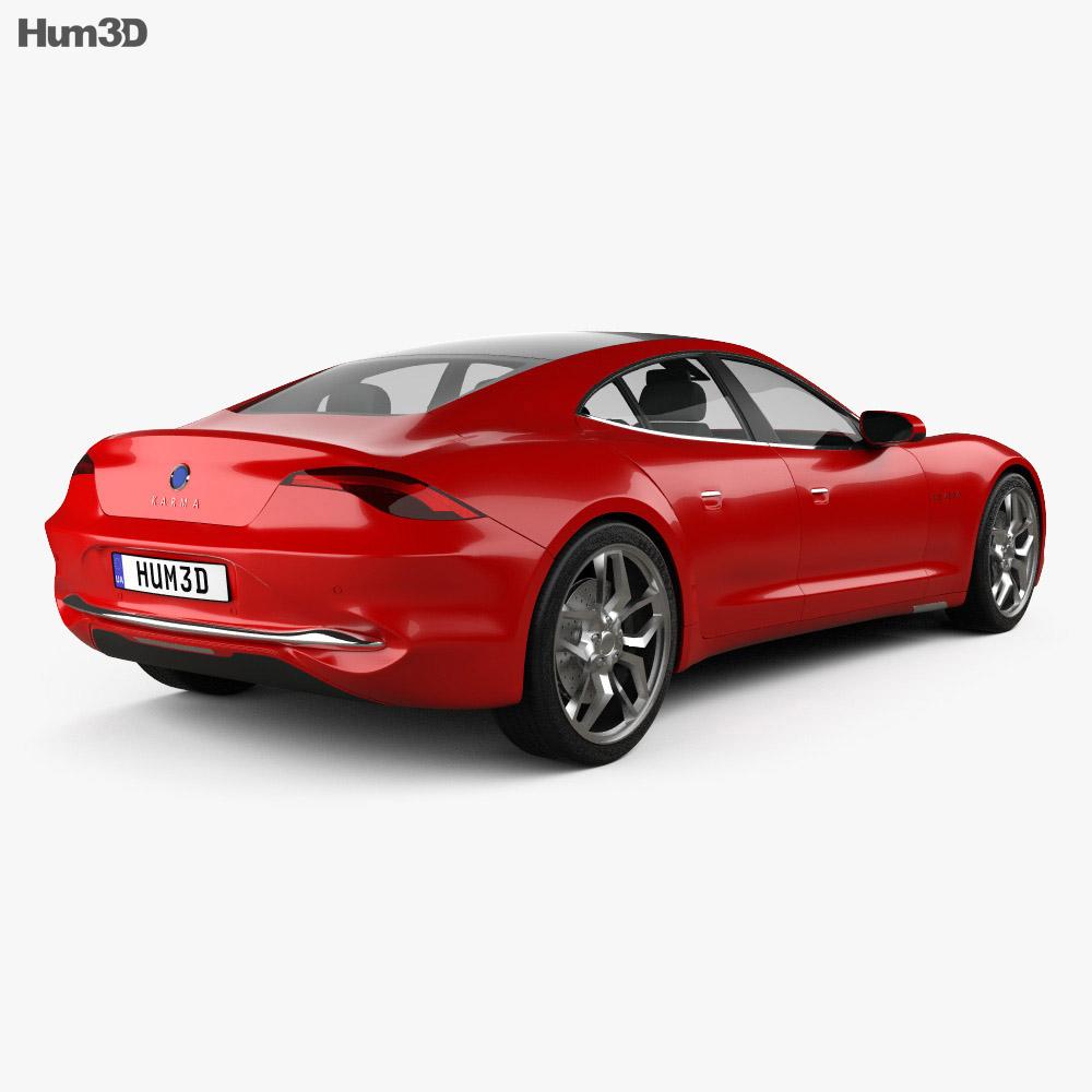 Karma Revero GT 2020 3d model