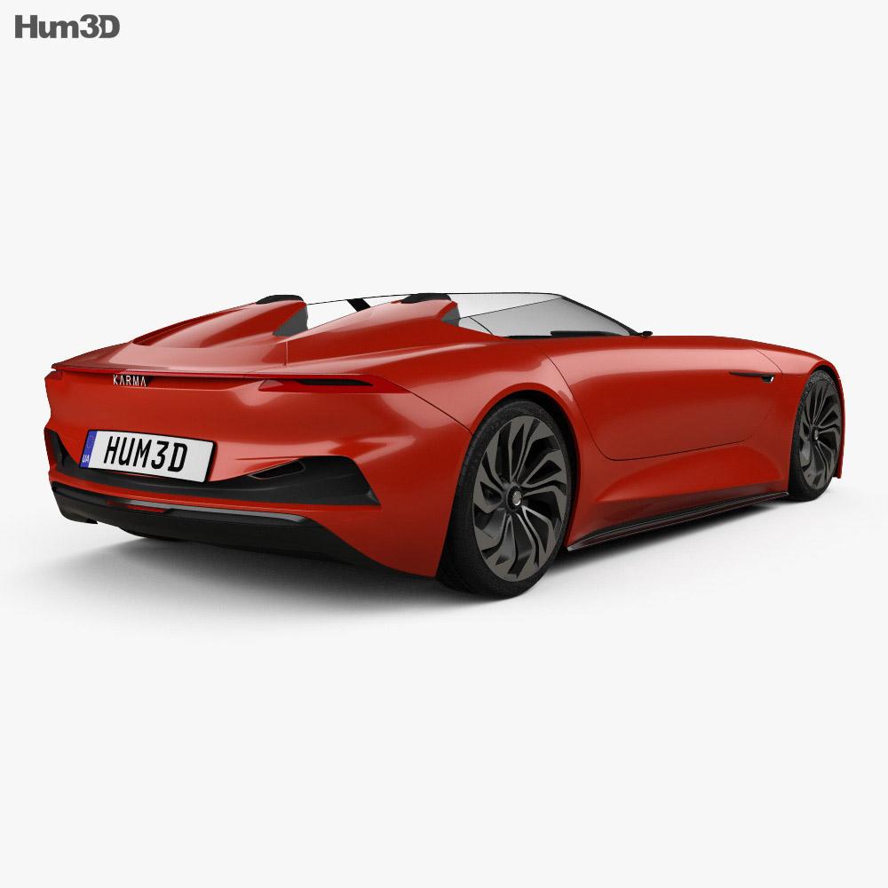 Karma SC1 Vision 2019 3d model back view