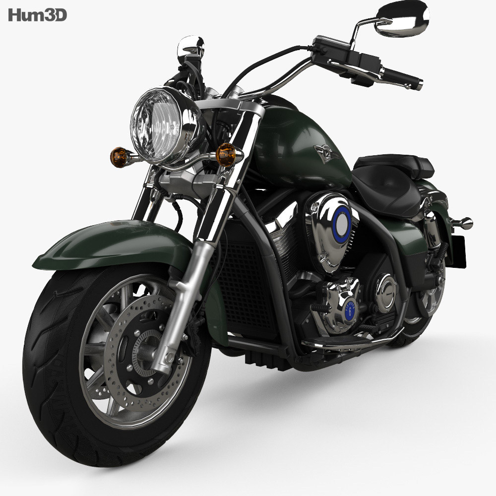 kawasaki vulcan 1700 classic 2014 3d model vehicles on hum3d. Black Bedroom Furniture Sets. Home Design Ideas