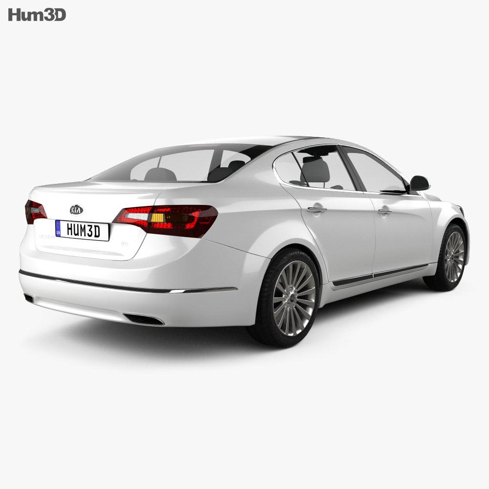 Kia Cadenza (K7) 2012 3d model