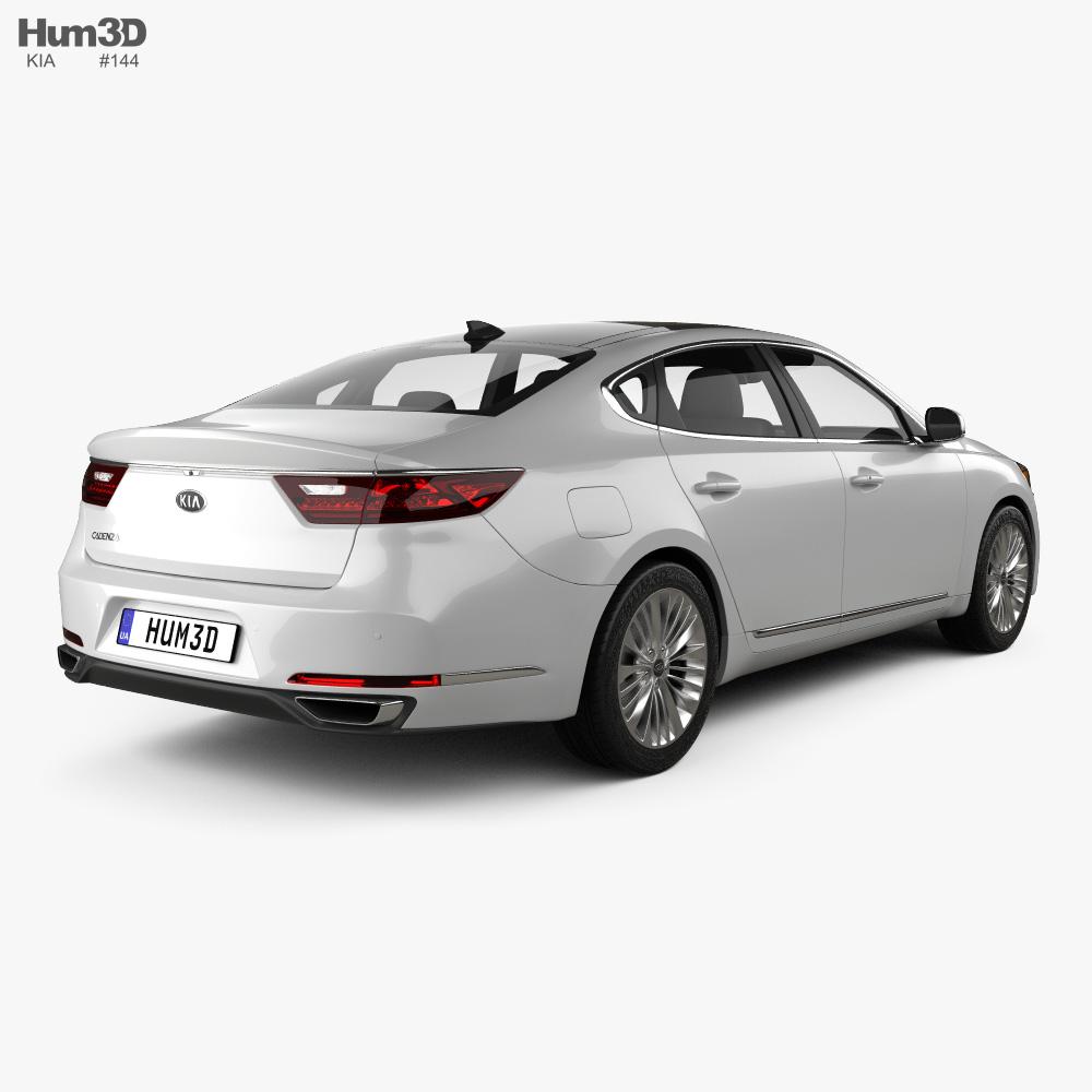 Kia Cadenza 2017 3d model