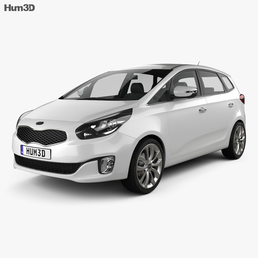 Kia Carens (Rondo) 2013 3d model