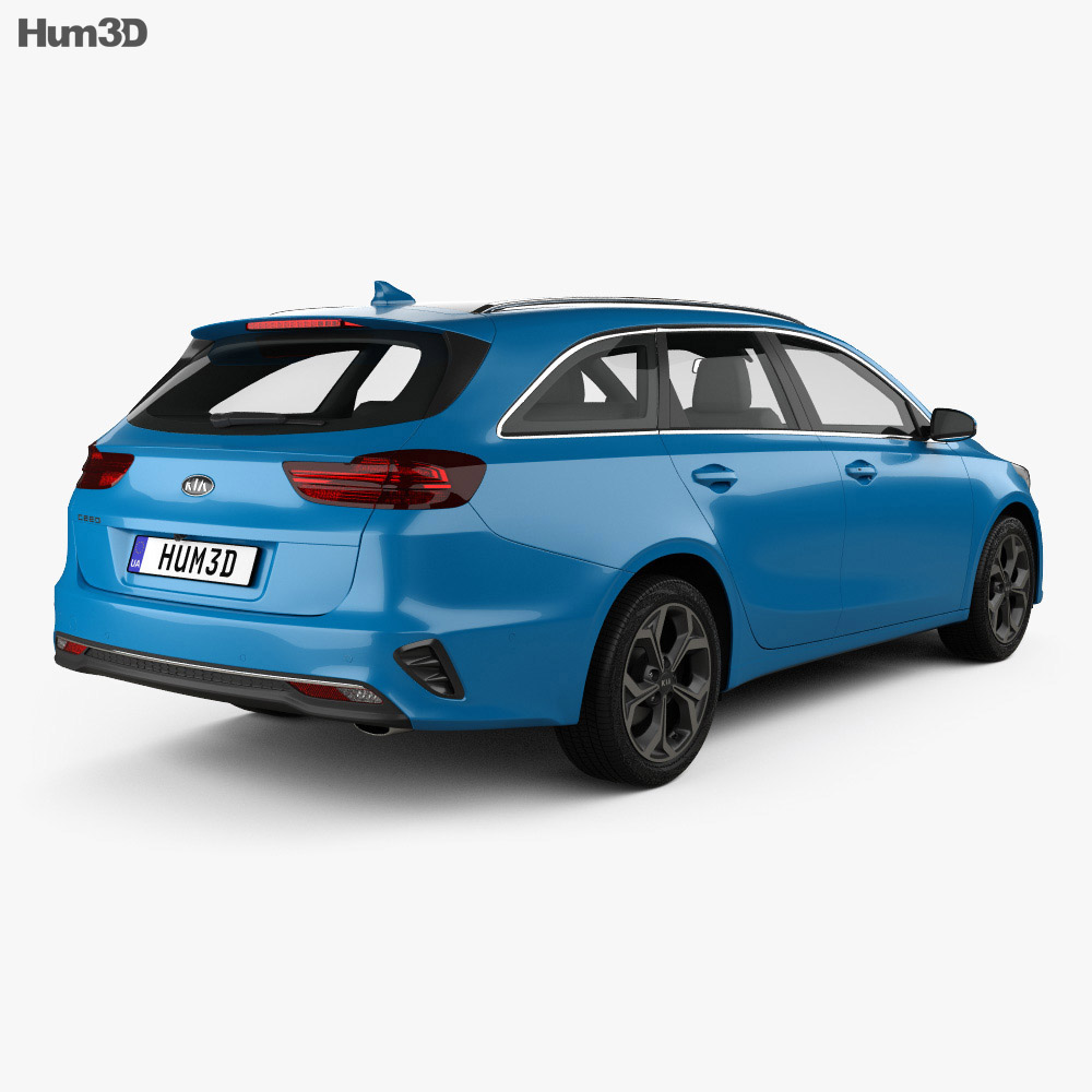 Kia Ceed sportswagon 2018 3d model