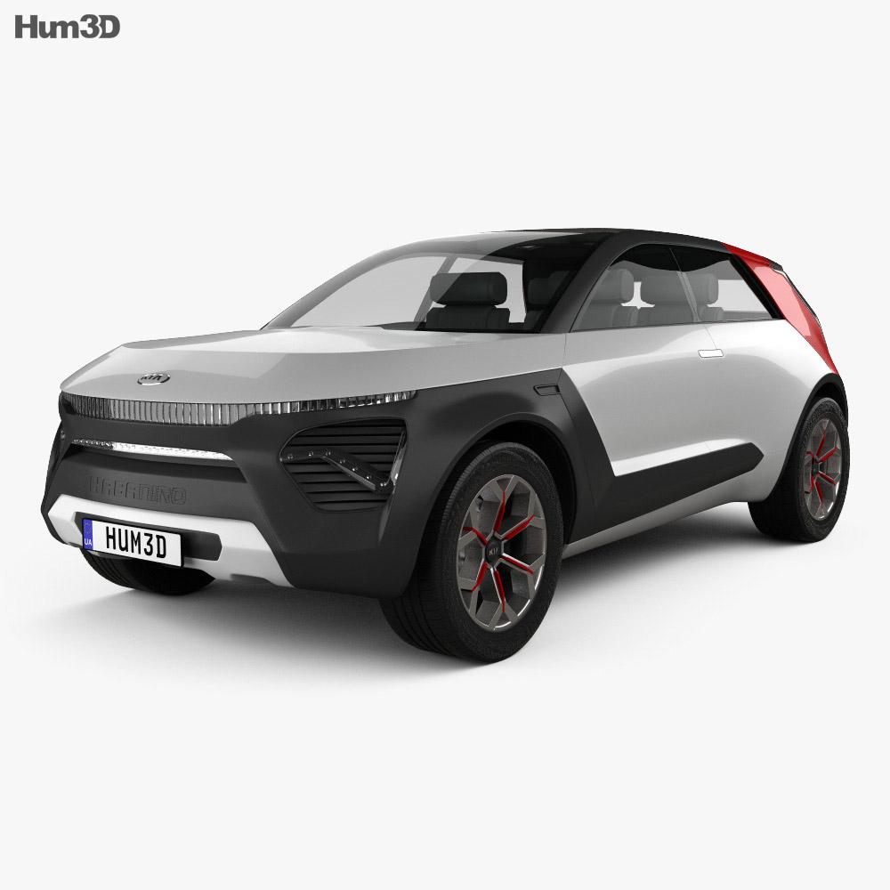 Kia HabaNiro 2019 3d model
