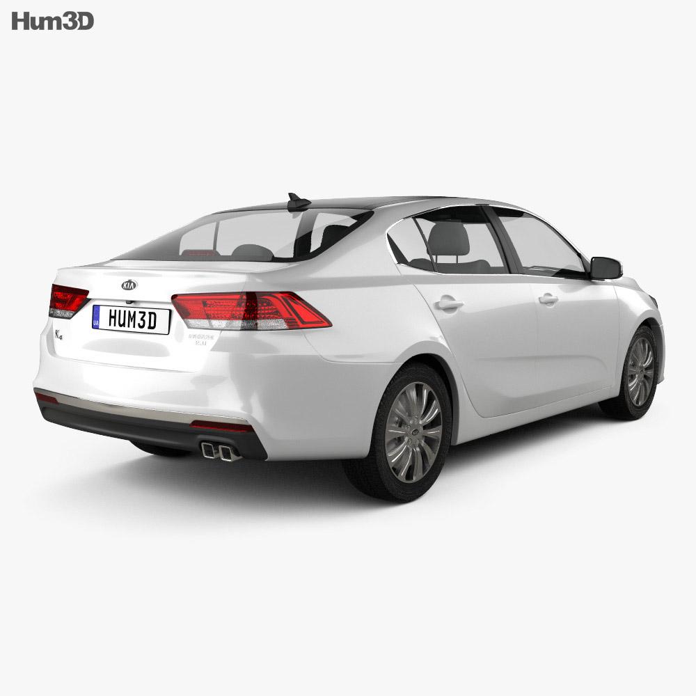 Kia K4 2015 3d model
