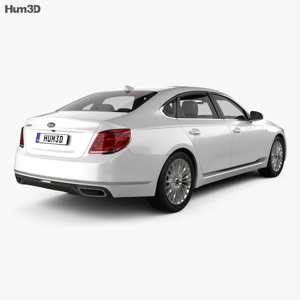 Kia K900 2019 3d model