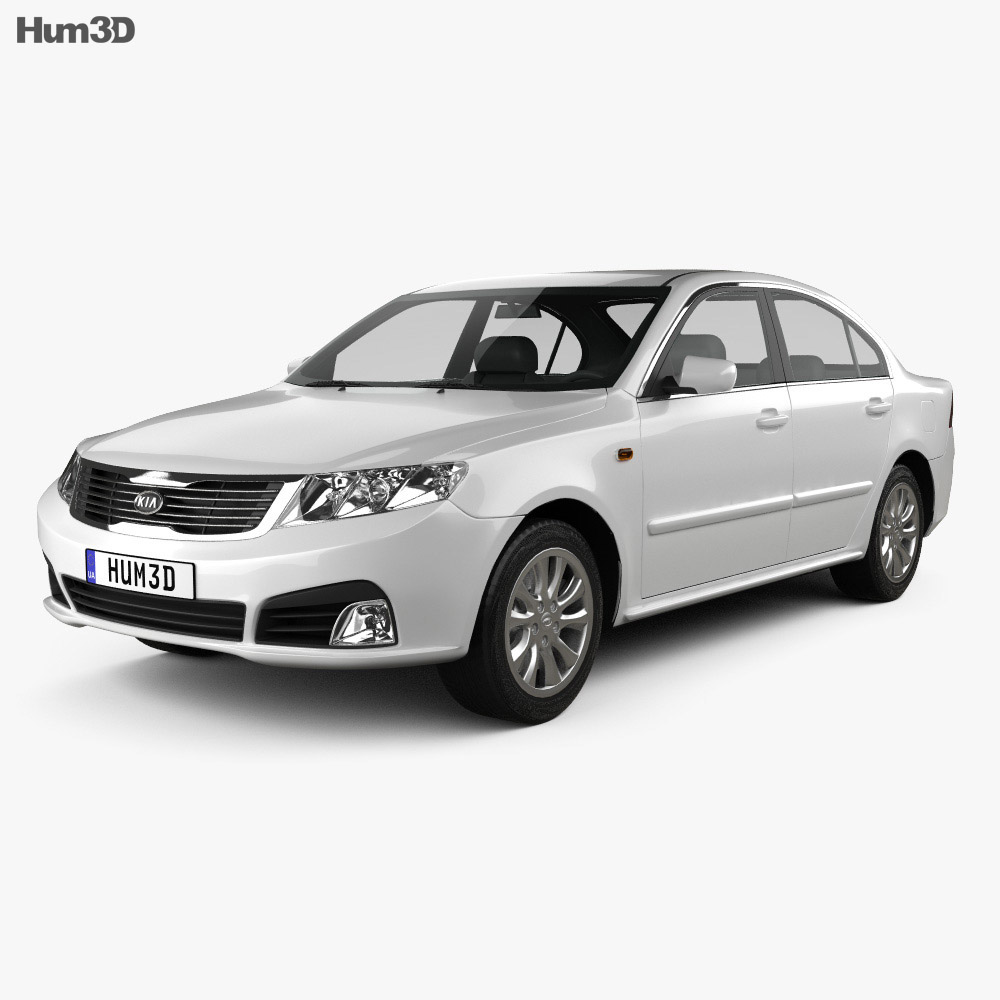 Kia Optima (Magentis) 2010 3d model