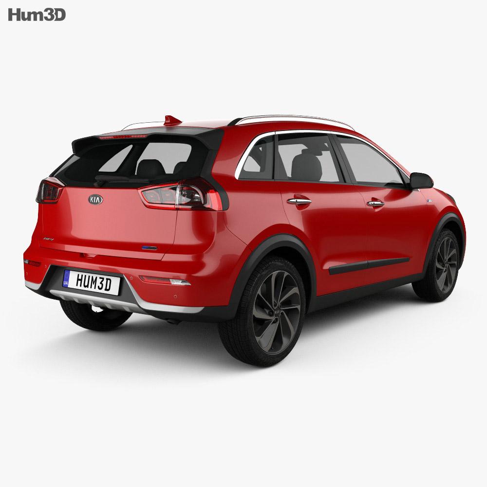 Kia Niro 2017 3d model