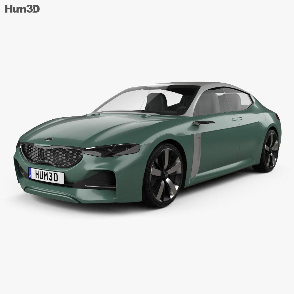 Kia Novo 2015 3d model