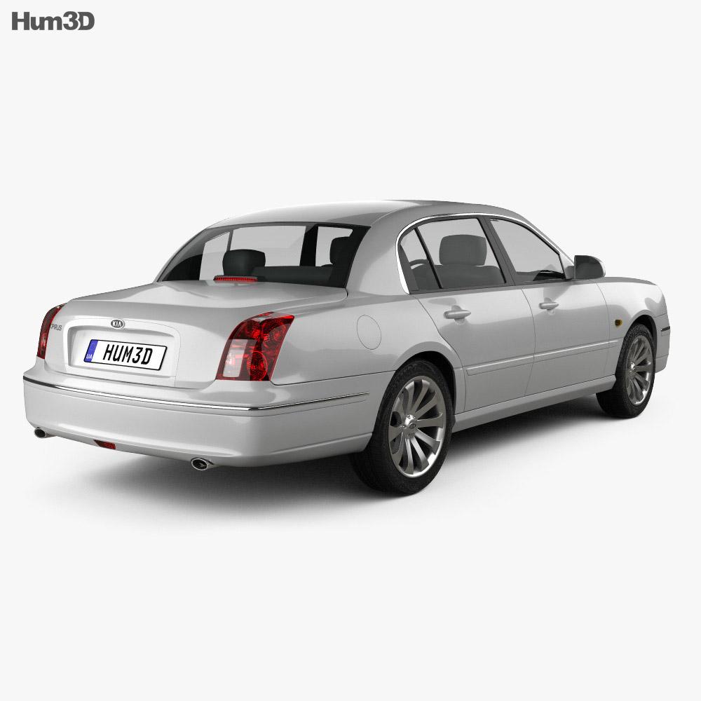Kia Opirus (Amanti) 2006 3d model