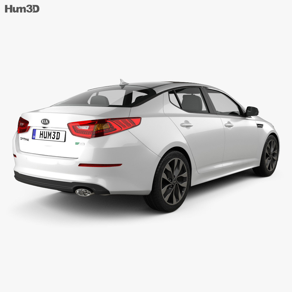 Kia Optima 2015 3d model