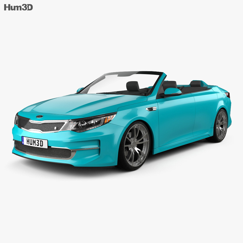 Kia Optima Roadster A1A 2015 3d model