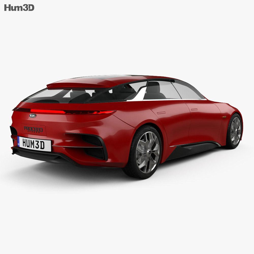 Kia Proceed 2017 3d model