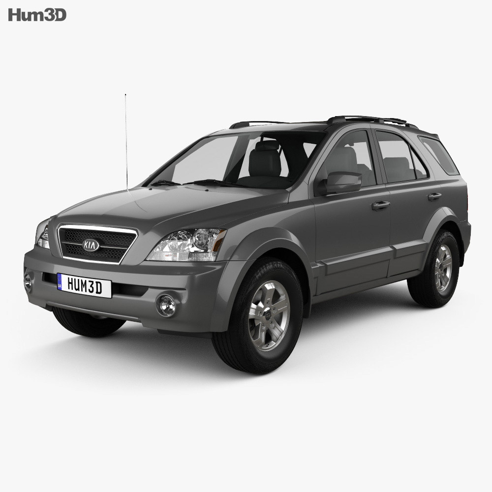 Kia Sorento EX US-spec 2002 3d model