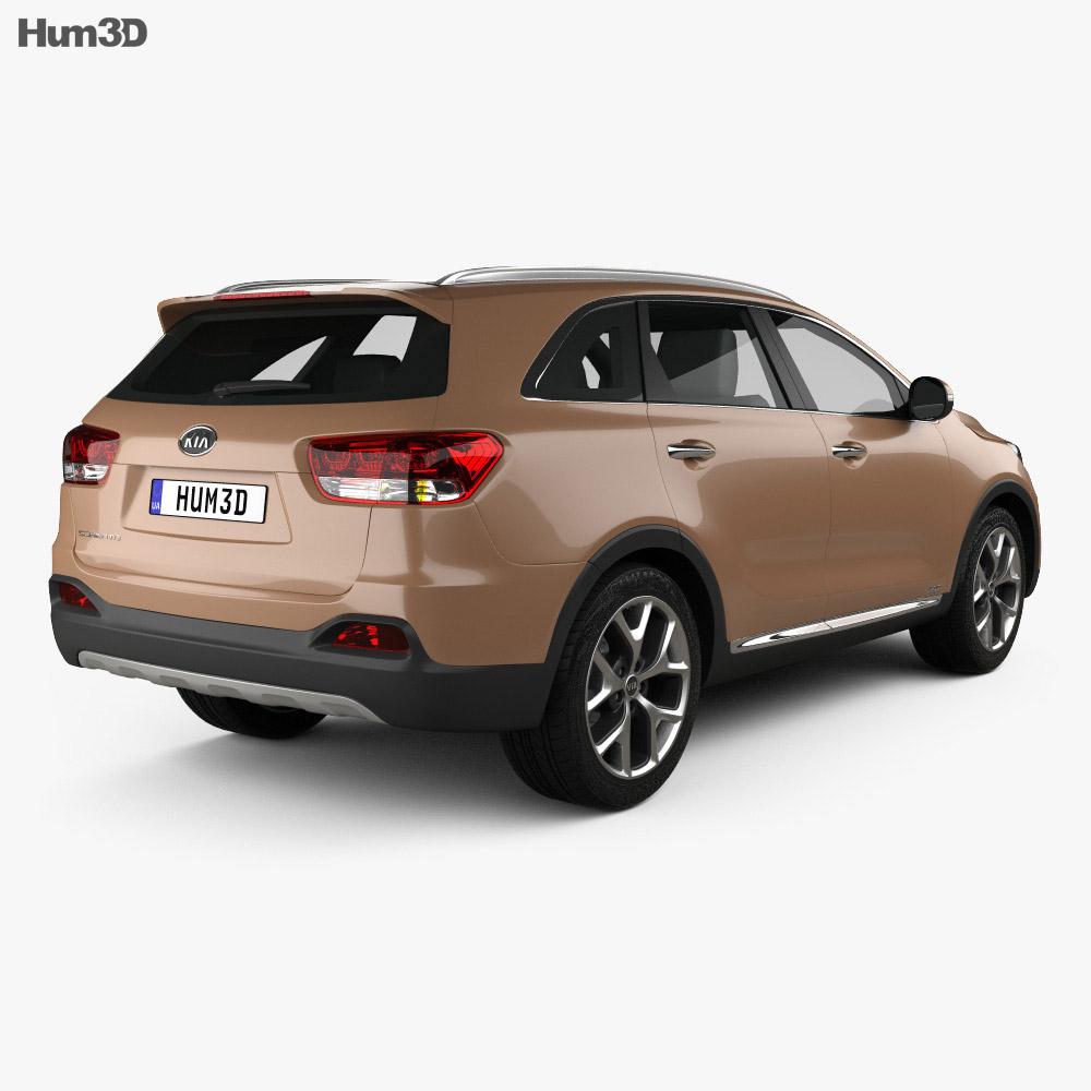 Kia Sorento UM 2015 3d model