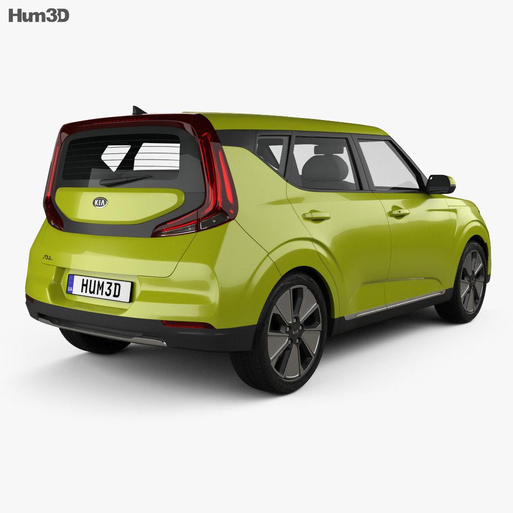 Kia Soul EV 2019 3d model