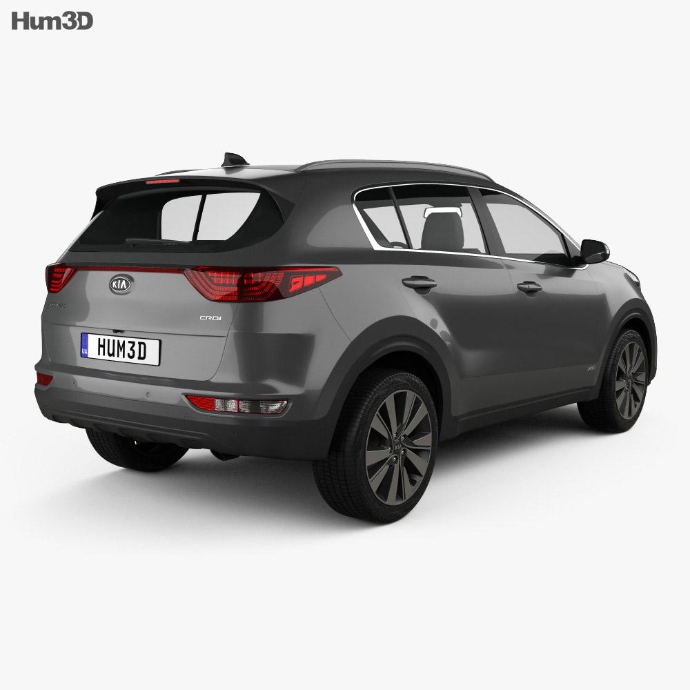 Kia Sportage 2016 3d model