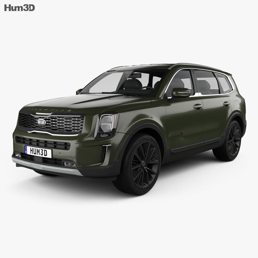 Kia Telluride 2019 3d model