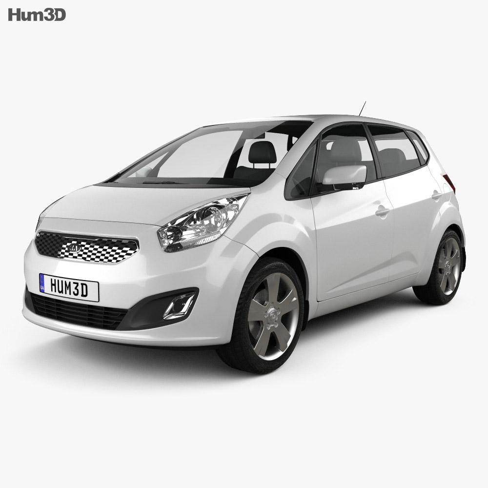 Kia Venga 2011 3d model